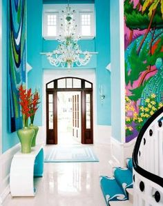 Turquoise Entry, Captiva, Florida by sadie jones