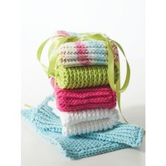 Mary Maxim - Free Double Thick Dishcloth Pattern