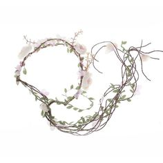 Newly arrived Rattan Flower Vine Crown Tiaras Necklace Belt Party... ❤ liked on Polyvore featuring accessories, hair accessories, crown headband, flower tiara, headband tiara, crown tiara and headband hair accessories