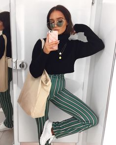 "6,035 Likes, 40 Comments - Alicia Roddy (@lissyroddyy) on Instagram: ""Just how I usually stand and chill you know ‍♀️ I am obsessed with these trousers (linked them…"""
