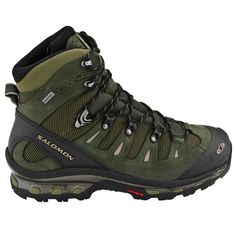 Salomon Quest 4D GTX Hiking Boots- OD Green / Black Footwear - Tactical Distributors- Tactical Gear MSRP: $229.95 Used by many Special Operations soldiers.
