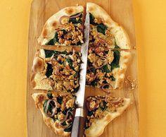 Tarte flambée avec viande de dinde - Recette - Cuisine de Saison