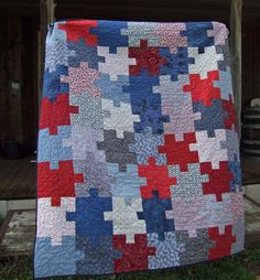 1000 Images About Puzzle Quilt On Pinterest Puzzle