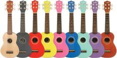 ¡Saca el músico que llevas dentro con estos ukuleles! ¡Todos los colores disponibles para que este verano te lo lleves a dónde quieras!