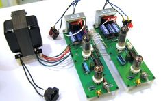 ZKIT2 / Zen Triode SET multi channel tube amplifier kit. Now I must teach myself to solder.
