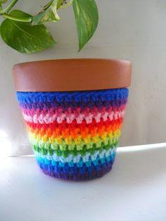 macetas vestidas al crochet - Buscar con Google