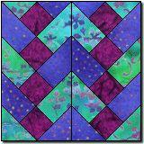 peggy sue's braids free quilt block pattern