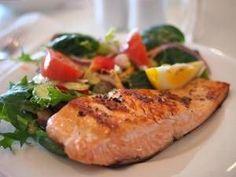 Lachs aus dem Ofen mit Gemüse - Fit fürs Frühjahr: Weg mit dem Winterspeck
