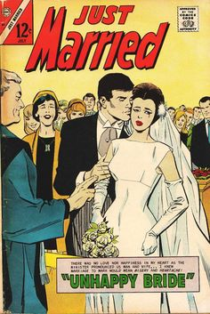 Comic Book Cover For Just Married 53