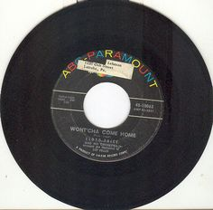 LLOYD PRICE 45 rpm Wont'cha Come Home