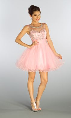 Pink lace homecoming dress | Good style dresses | Pinterest | Best ...