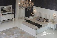 Zebrano Monet Yatak Odası Takımı