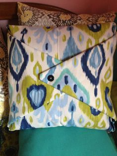 Bedroom no sew pillow