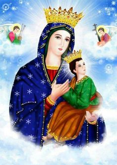 MOTHER MARY, PRAY FOR US...PLEASE!