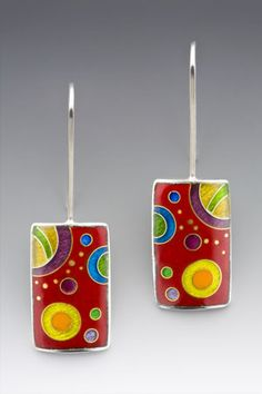 Anna Tai: Galaxy Series - these remind me of a pair I had in the 80's so fun!