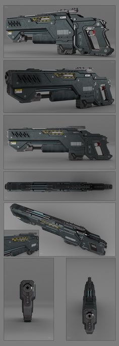 Battle rifle concept by peterku on deviantART