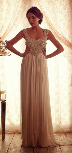 Precioso vestido de novia   Colección Anna Campbell