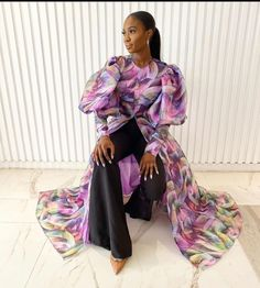 """WLA London on Instagram: """"Make a statement in this set by @rendolllagos . We love gorgeous prints 💓 #WLALondon"""" Chic Outfits, Fashion Outfits, Evening Dresses For Weddings, Latest African Fashion Dresses, Traditional Fashion, African Wear, Shirtdress, Separates, Modest Fashion"""