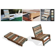 pallet chair -- another reason to prove to Dustin all the pallets at the barn can be turned into something useful :)