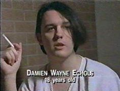 Damien Echols Son | Damien Echols in detention. His hair length and color are repeatedly ...