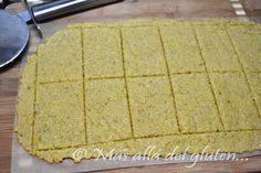 Más allá del gluten...: Galletas Saladas con Orégano y Ajo (Receta SCD y GFCFSF)