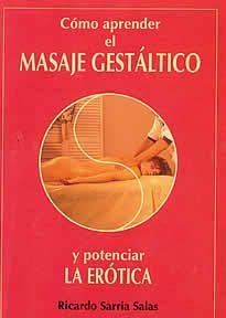 """Cómo aprender el masaje Gestáltico y potenciar la erótica de Ricardo Sarria editado por Edaf. Este libro es el fruto de la vasta experiencia de su autor como psicoterapeuta y sexólogo, así como de la necesidad que sintió de """"encender la luz"""" para mostrarnos cómo son los talleres de evolución de la Erótica y Evolución Personal y Masaje."""