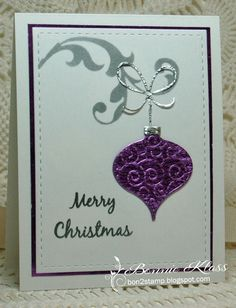 Good Merry Monda y morning.         We have a great challenge this week from Debbie .         This was actually the 2nd card I did.     I...