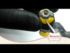 How to make a miniature Vampire minion out of polymer clay (Minions movie) - YouTube
