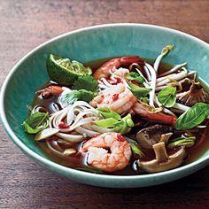 Spicy Shrimp Noodle Soup   MyRecipes.com