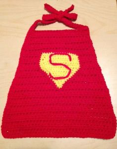 Superman,Cape,Crochet,Clothing,superman,boy,infant,cape,yellow,red,photo_prop,newborn,Halloween,super__hero,costume,comic,toddler,acrylic ya...