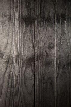 Bois brulé - Noir de noir - Chêne Urban Industrial, Industrial Bedroom, Industrial House, Industrial Interiors, Industrial Furniture, Black House Exterior, Modern Retro, Modern House Design, Rustic Decor