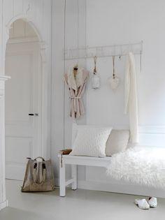 Boho Deco Chic: Impresionante casa con un look TOTAL WHITE