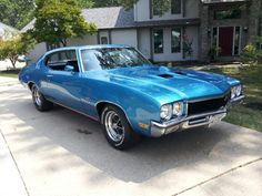 1972 Buick Gran Sport Stage 1 muscle car.