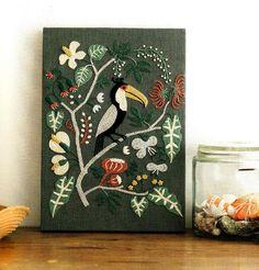 Tropical bird by Yumiko Higuchi