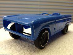 Vintage Plastic 1968-72 Ford Bronco Pickup Truck Gay Toys   #AMERICANPLASTICTOYSGayToys #Ford