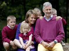 King Albert II of Belgium expected to abdicate today; Crown Prince Philippe to accede. The Crown Prince family,  hellomagazine.com
