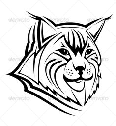Realistic Graphic DOWNLOAD (.ai, .psd) :: http://sourcecodes.pro/pinterest-itmid-1000062518i.html ... Head of lynx ...  animal, bobcat, cat, design, hunting, icon, isolated, lynx, mascot, pictogram, sign, tattoo, undomesticated, wildcat, wildlife  ... Realistic Photo Graphic Print Obejct Business Web Elements Illustration Design Templates ... DOWNLOAD :: http://sourcecodes.pro/pinterest-itmid-1000062518i.html