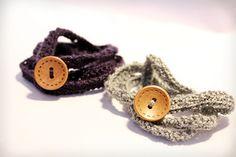 Beginner Crochet Bohemian Wrap Bracelet Pattern by Amanda Jasmine Crochet