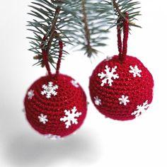 4 bombki Christmas Diy, Xmas, Christmas Ornaments, Fox, Decorations, Holiday Decor, Home Decor, Decoration Home, Room Decor
