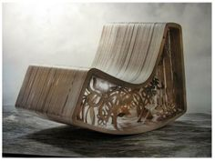 """Number Seventy Six: """"Rocking Beauty Chair"""" {StudioBility} Would love to have this chair myself"""