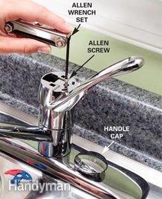 Kitchen Faucets Ideas Fix a dripping kitchen faucet with replacement parts. - Fix a dripping kitchen faucet with replacement parts. Kitchen Faucet Parts, Kitchen Faucet Repair, Black Kitchen Faucets, Bathroom Faucets, Kitchen Sinks, Kitchen Remodel, Leaking Faucet, Dripping Faucet, Messages