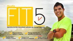 EDUCAÇÃO ALIMENTAR e EXERCICIOS DE 5 MINUTOS Conheça o Desafio FIT5 Elimine gordura corporal e conquiste um corpo FIT . Programa online ! SAIBA MAIS CLIQUE NA IMAGEM PARA ACESSAR O SITE ! #emagrecimento #fitness #fit5 #exercicios