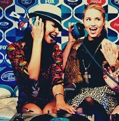 Naya Rivera & Dianna Agron