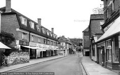 Hythe, High Street c.1955, from Francis Frith