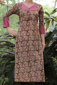 Salwar Neck Patterns, Salwar Neck Designs, Churidar Designs, Kurta Neck Design, Churidhar Neck Designs, Dress Neck Designs, Blouse Designs, Kalamkari Dresses, Night Dress For Women