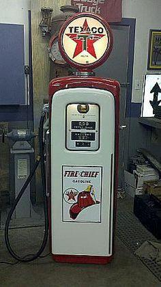 Vintage Gas Station Pump - Texaco