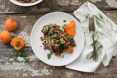 Apricot Quinoa Summer Salad ‹ Hello Healthy