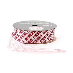 "Free Shipping. Buy UNIVERSITY OF OKLAHOMA RIBBON GIFT WRAP RIBBON-OKLAHOMA SOONERS CRAFT RIBBON-7/8"" WIDTH-NCAA RIBBON at Walmart.com"