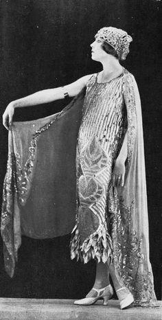 1924 Robe du soir by Lucile.
