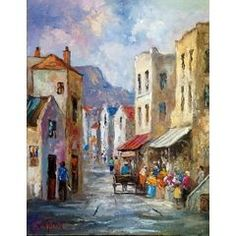 District Six ***JUNE TUCKETT*** in the Oils category was listed for on 10 Oct at by Art_isanal in Gauteng South African Art, June, Artist, Painting, Artists, Painting Art, Paintings, Painted Canvas, Drawings